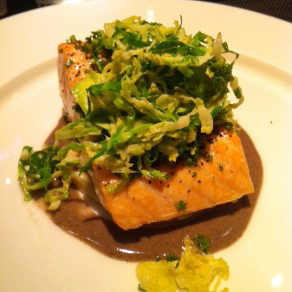 Roasted Salmon - Jean Georges Steakhouse - Aria, Las Vegas, NV