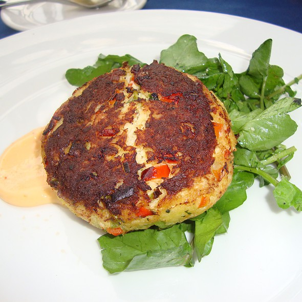 crab cake - Ibiza Food and Wine Bar, Houston, TX