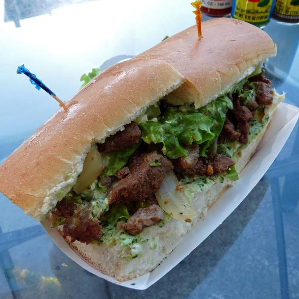 Tri-Tip Sandwich @ Brazil Fresh Squeeze Cafe