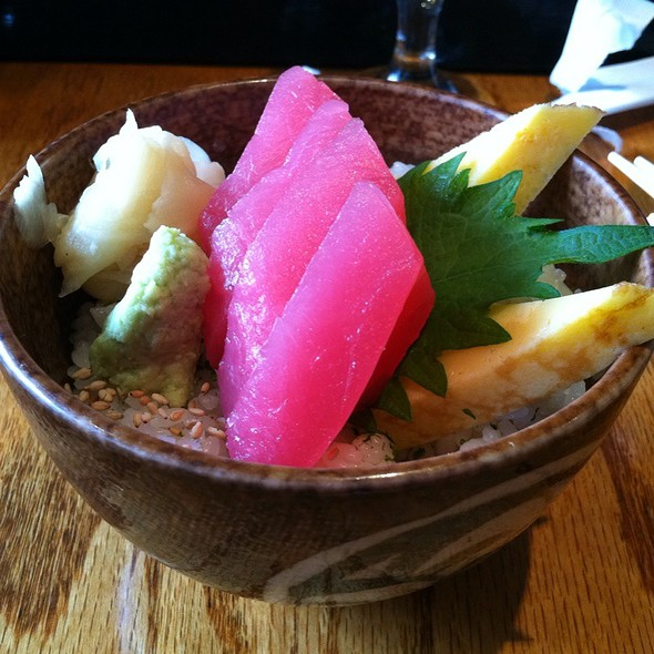 Mini Chirashi @ Marumi Restaurant