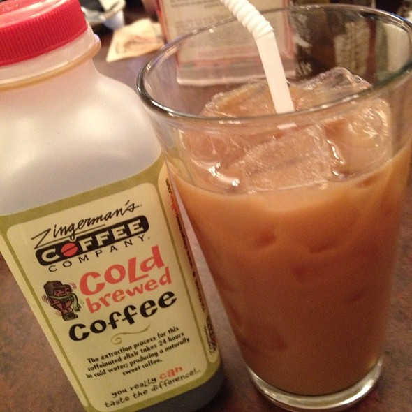 Cold Brew Coffee @ Zingerman's Roadhouse