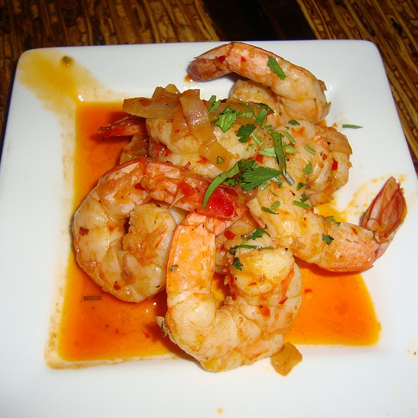 Sauteed Piri-Piri Shrimp @ Oporto