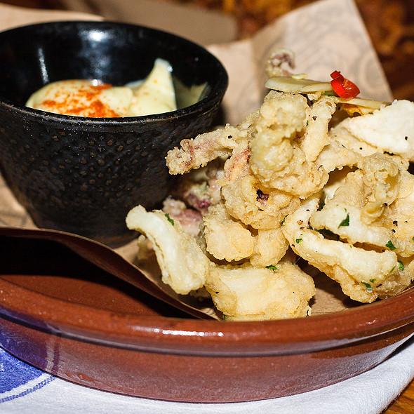 Crispy Squid @ Jamie's Italian