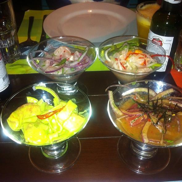 Degustaciones De Cebiches Y Causas @ La Mar Cebicheria