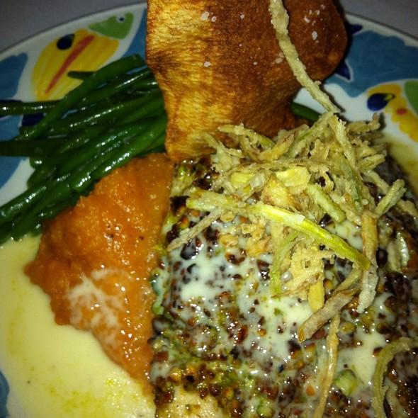 Pistachio Crusted Mahi Mahi - Maguire's - North Dallas, Dallas, TX