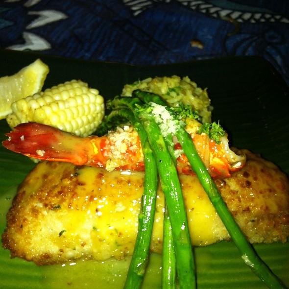 Stuffed Mahi Mahi  @ Mama's Fish House