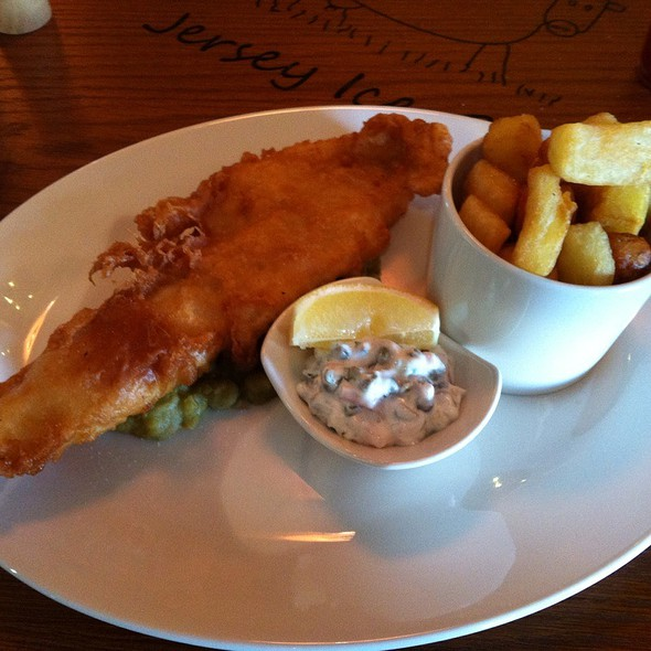 Fish and Chips @ The Chester Fields Country Pub & Restaurant