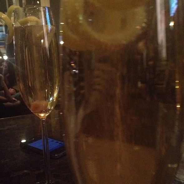 Champagne Cocktail @ Sable Kitchen & Bar