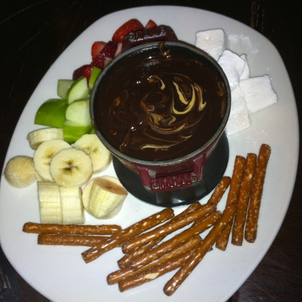 Chocolate and Peanut Butter Fondue