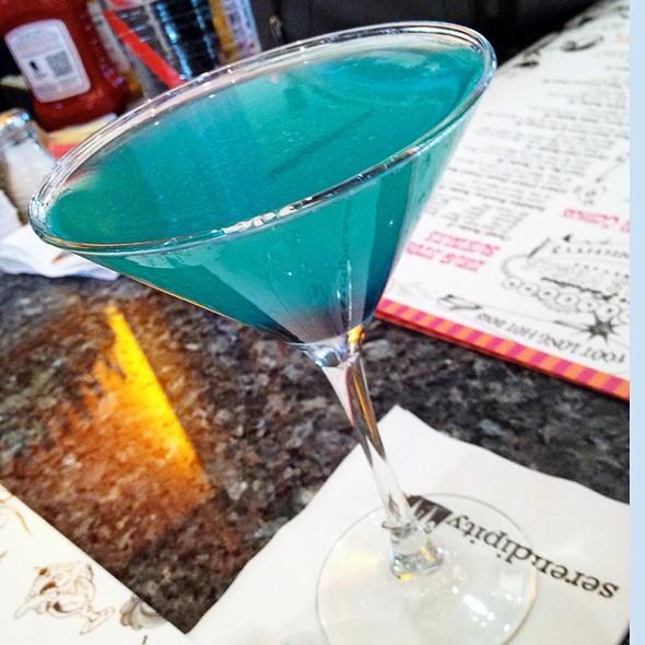 Cotton Candy Apple Martini @ Serendipity 3