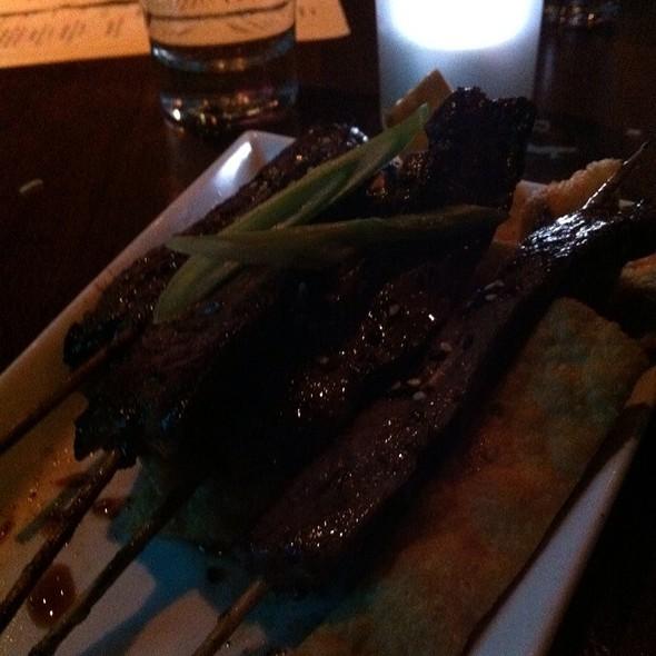 Sesame Steak Yakitori Skewers @ Suzy Wong's House of Yum
