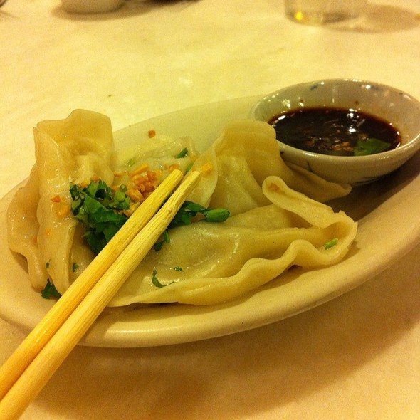 Chicken & Vegetable Dumplings @ The Smiling Elephant: Best Pad Thai Restaurant