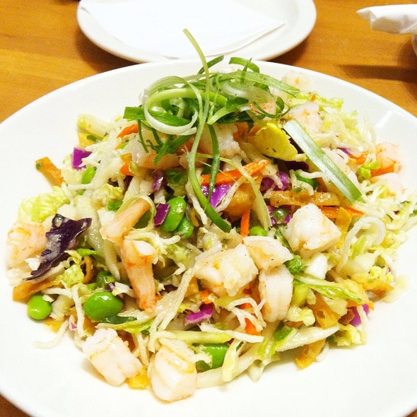 Miso Shrimp Salad @ California Pizza Kitchen