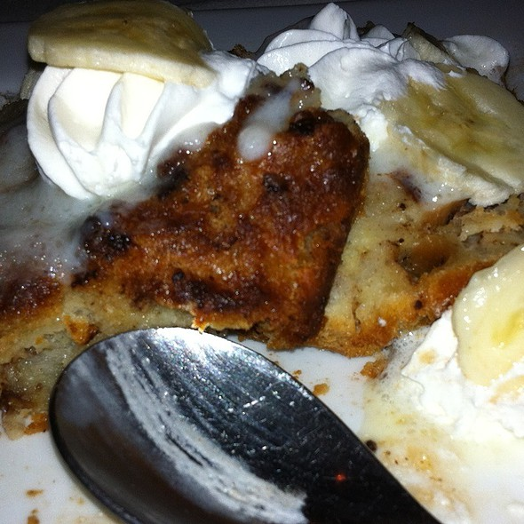 Banana And Chocolate Chip Bread Pudding @ Sybill's St James