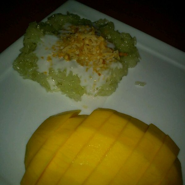 Mango Sticky Rice @ Sala Thai Restaurant