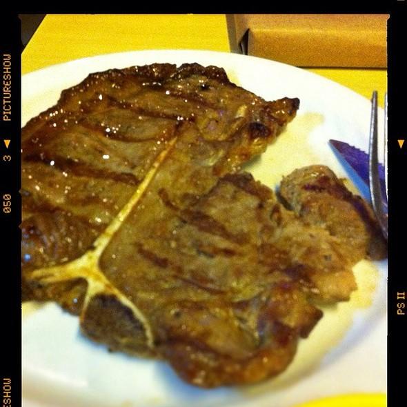 porterhouse steak @ Snackaroo