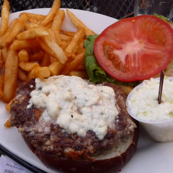 Burger with Blue Cheese @ Hackney's