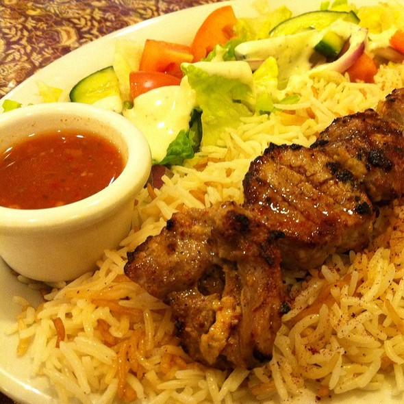 Lamb Tikka Kabob @ Silk Road Kabob House