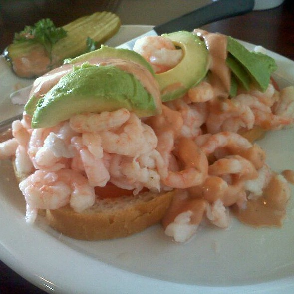 Bay Shrimp Sandwich @ Cowboys Corner Cafe