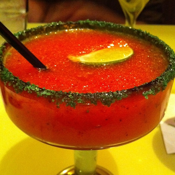 Strawberry Margarita - Yolo's Mexican Grill, Las Vegas, NV