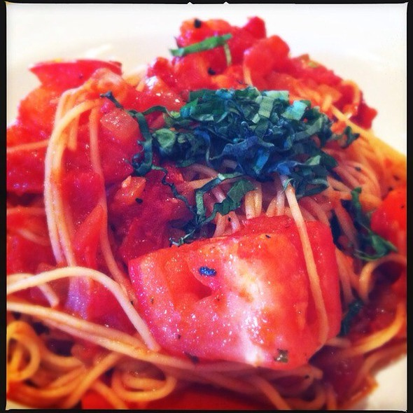 Angel Hair Pasta With Tomato And Basil  @ King Fish House