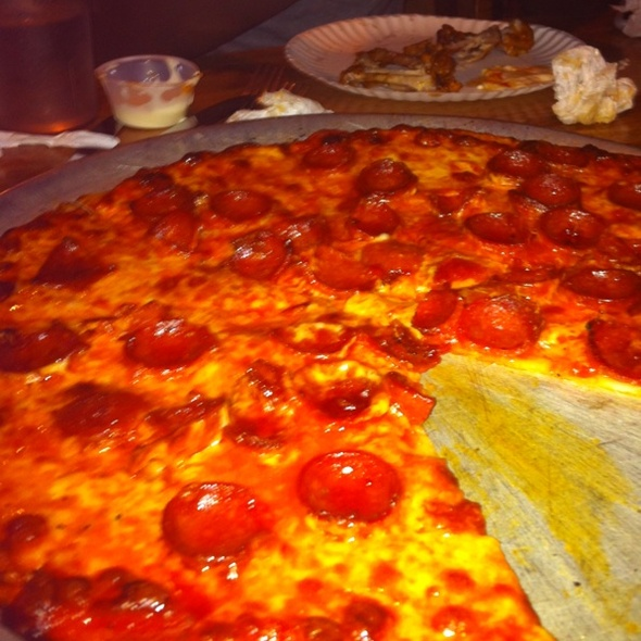 Pepperoni Pizza @ Star Tavern