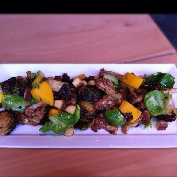 Brussel Sprout, Cauliflower & Mango Salad @ Boke Bowl