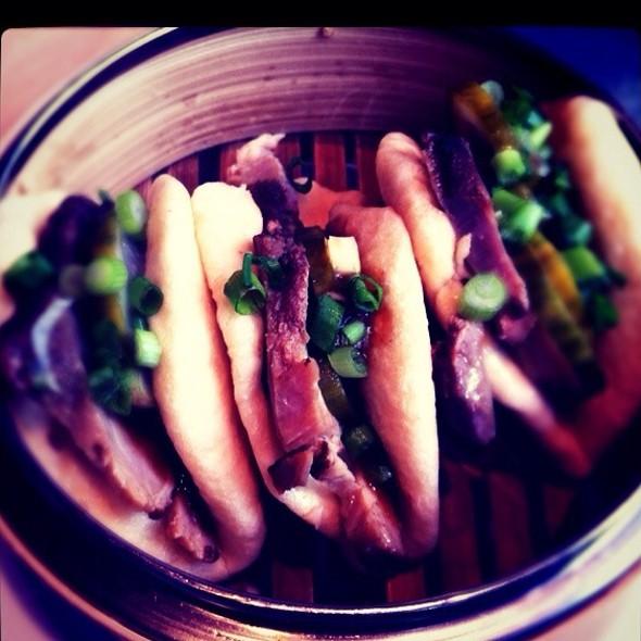 steamed char siu buns @ Boke Bowl