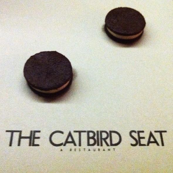 Porcini Oreos @ The Catbird Seat