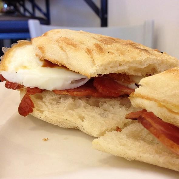 Bacon And Egg @ Brightbird Espresso