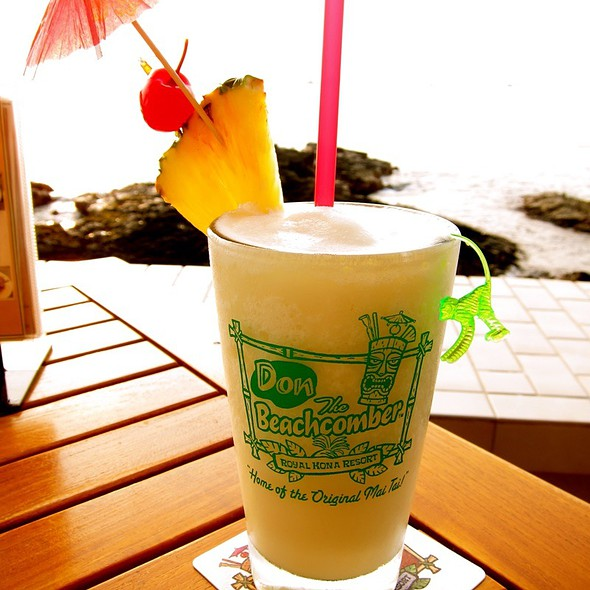 Pina Colada - Don the Beachcomber - Royal Kona Resort, Kailua-Kona, HI