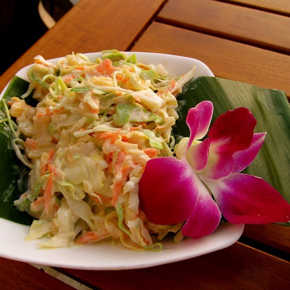 Pineapple Cole Slaw - Don the Beachcomber - Royal Kona Resort, Kailua-Kona, HI