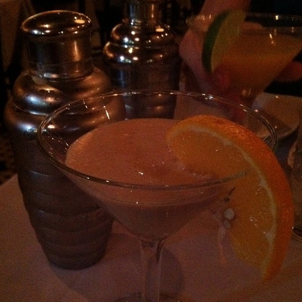 Orange Creamsicle Martini @ Cafe Zola