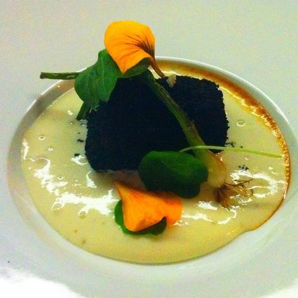 Burnt Kale Encrusted Wagu Beef @ The Catbird Seat