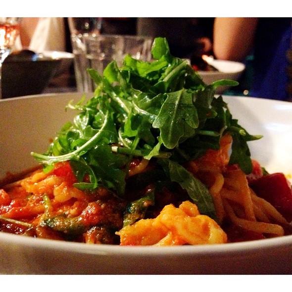 prawn linguine @ Jamie's Italian