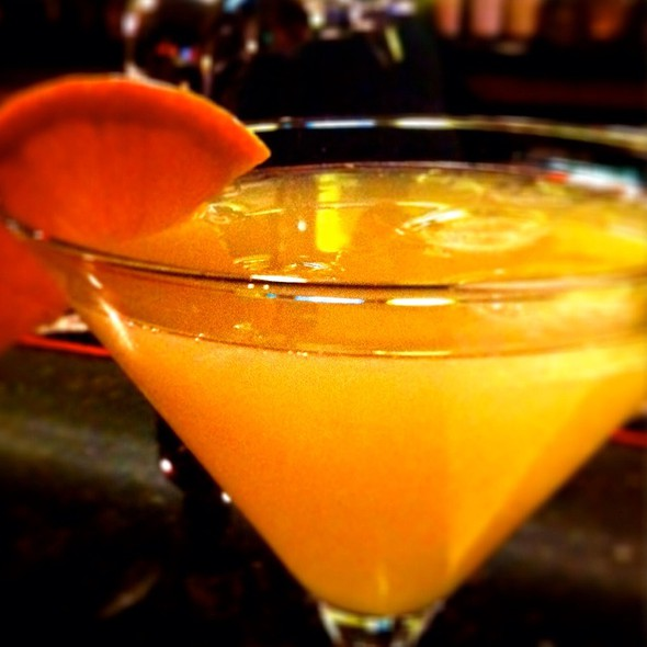 Orange Elderflower Martini @ Exchange Street Bistro