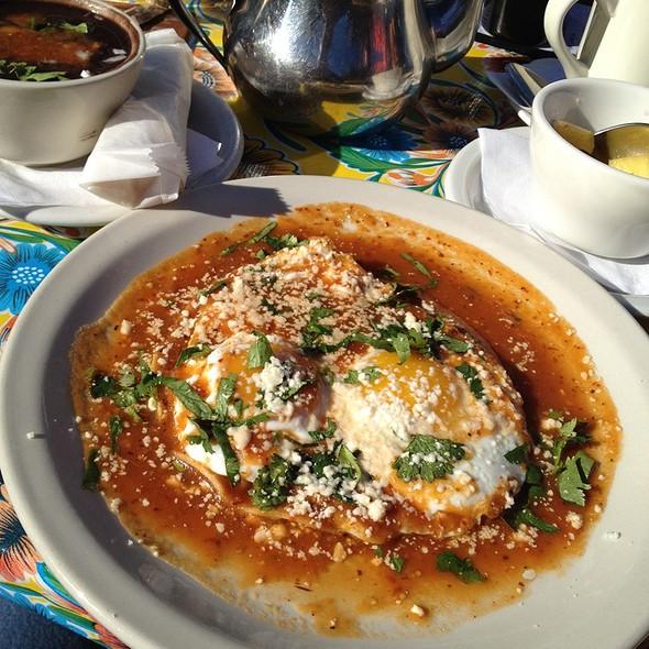 Huevos rancheros @ Haute Enchilada Cafe