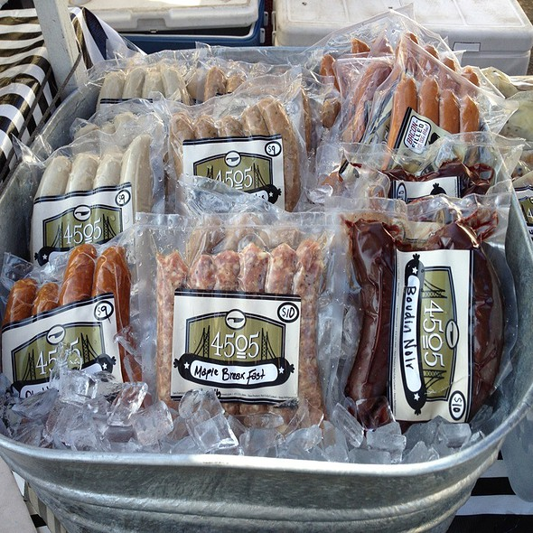 Bacon-Filled Hot Dogs @ 4505 Meats (Ferry Building Thursday & Saturday Market)