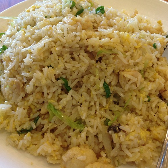 Chicken With Salted Fish Fried Rice @ Hong Kong Chef