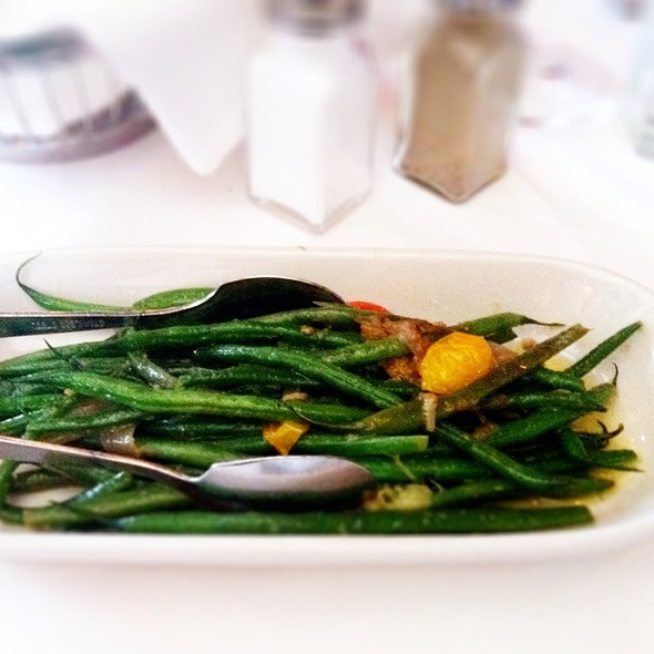 Green beans @ The Capital Grille