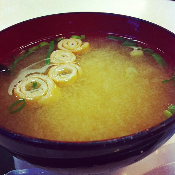 blessed miso soup  #maui