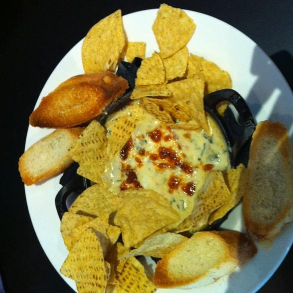Spinach Artichoke Dip - CBS Scene Restaurant and Bar, Foxboro, MA