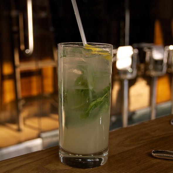 Basil Mint Lemonade @ Ella Dining Room & Bar