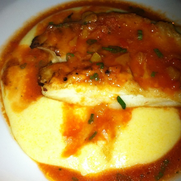 Chilean Sea Bass Over Polenta - Trattoria one41, Johns Creek, GA