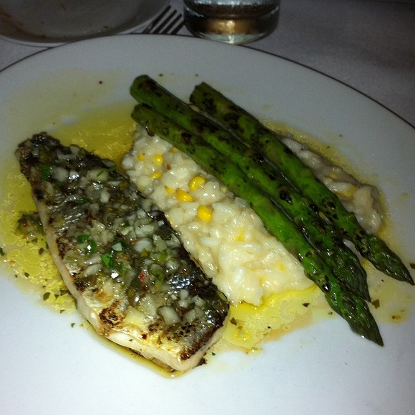 Chilean Sea Bass with Risotto - Trattoria one41, Johns Creek, GA