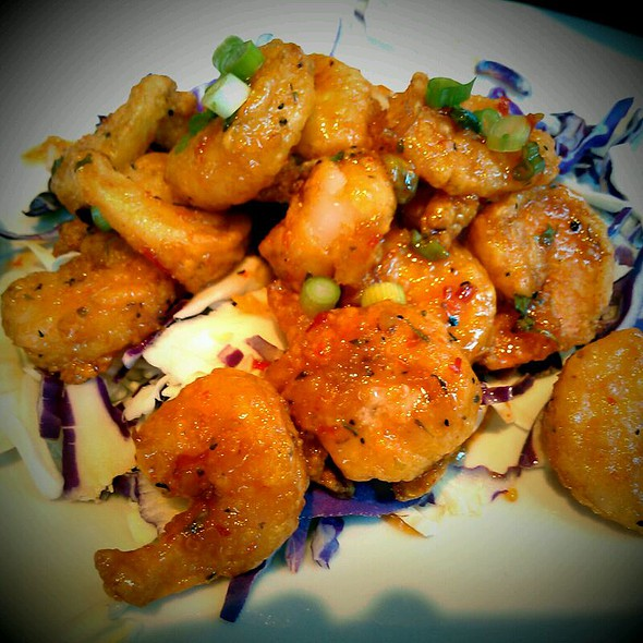 Sweet Chili Lime Shrimp @ Shula's 347 Grill