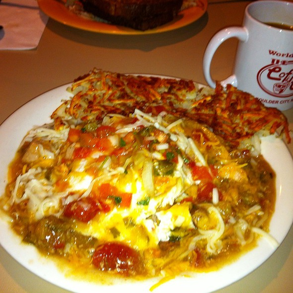 Huevos rancheros @ Coffee Cup