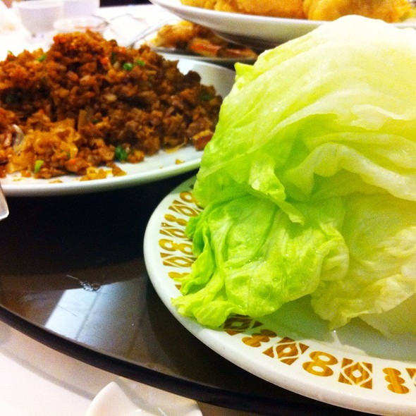 Lettuce Wrap Peking Duck @ Koon Lock Restaurant
