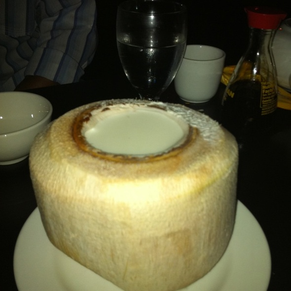 Coconut Pudding @ Red Egg