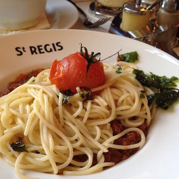 Spaghetti A La Bolognaise @ SAINT REGIS